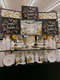 favorite farmhouse summer decor ideas 41 ~ Home Design Ideas Lemon Kitchen Decor, Kitchen Decor Themes, Kitchen Ideas, Kitchen Upgrades, Kitchen Remodeling, Revere Pewter, Hobby Lobby Furniture, Decor Scandinavian, Smitten Kitchen