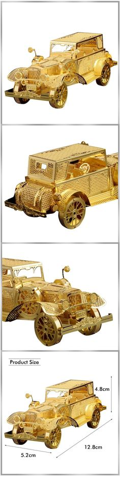 3D Metal Puzzle Awecker Hummer Racing Car Model Building puzzle Home Furnishing furnishings Creative gifts DIY TOYS