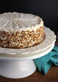 Apple Cake with Maple Buttercream and Pecan Trim_1