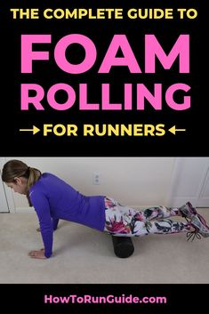 Why should runners foam roll? Easy - to improve muscle recovery and prevent injuries! Find out more about foam rolling and learn the 6 most IMPORTANT foam rolling moves that all runners should be doing regularly. Running Injuries, Running Workouts, Running Tips, Running Style, Quick Workouts, Half Marathon Tips, Half Marathon Training, Foam Rolling For Runners, Foam Roller Exercises