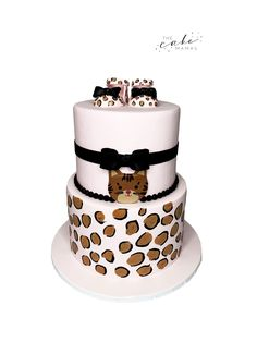 Simple Cat themed cake for a baby shower! Call or email to order your celebration cake today. Click the link below for more information. Cakes Today, Cupcake Wars, Fondant Cakes, Custom Cakes, Themed Cakes, Baby Shower Cakes, Food Network Recipes, Cute Cats