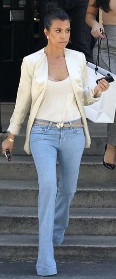 Kourtney Kardashian | perfect friday office look