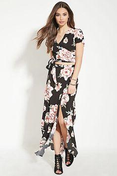 Floral Print Maxi Skirt | Forever 21 - 2000182930
