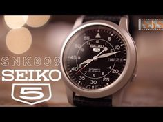 Review: Seiko 5 SNK809 Military Watch - Best First Automatic Sports Watch Around $50? - YouTube