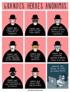 Grandes Héroes Anónimos. Gracias por tanto, perdón por tan poco.