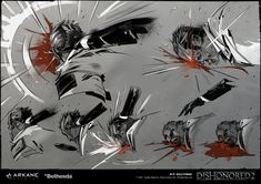 ArtStation - VFX Concept Art | Blood projections & Fight FX, Nicolas Petrimaux Magic Design, Scary Art, Poses References, Figure Drawing Reference, Anime Poses, Environment Concept Art, Manga Drawing, Art Tutorials, Anime Manga