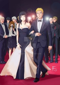 Naruhina Red Carpet by Arai14