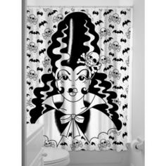 Image of Franken Doll Shower Curtain