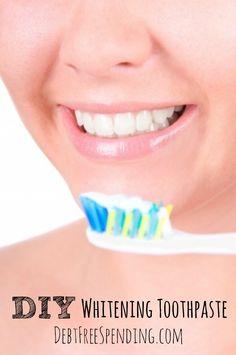 DIY Whitening Toothpaste