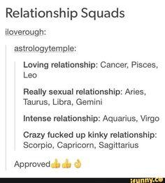 Billedresultat for zodiac signs squads tumblr