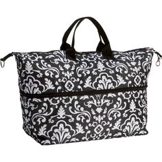 Thirty-One Expand-A-Tote Day Extender.  I have it in a floral pattern (same colors as the Mint-Chip) and we use it all the time!!  It's perfect for the beach and swimming lessons.