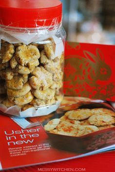 Chinese New Year Cookies: Walnut Biscuit (Hup Toh Soh)