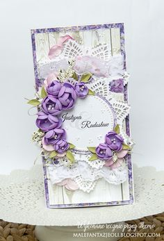 Blog Craft Passion: Fioletowy ślub / Purple wedding