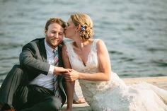 Rustic Lake Wedding: Liz & Alex