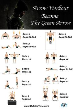 Stephen Amell Workout Routine - Become The Green Arrow Muscle Building Tips, Build Muscle Mass, Green Arrow, Stephen Amell Workout, Arrow Workout, Celebrity Workout, Help Losing Weight, Bodybuilding Workouts, Fun Workouts