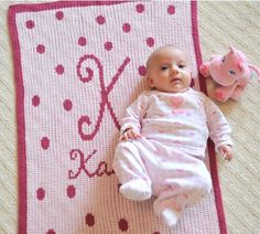 Personalized Baby Blanket - Baby Girl