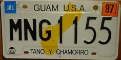 guam Lived there many years ago.- fun decor for my wall License Plate Crafts, License Plates, Car Tags, Image Plate, Guam, Get One, Favorite Things, Calendar, Island