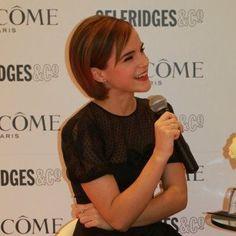 Emma Watson short hair<3