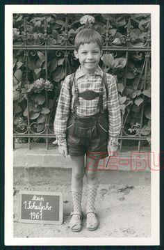 Mein 1. Schuljahr 1961