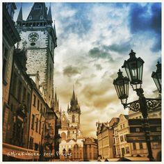 Prague Czech Republic #DiscoverCZ #2015 #world #prague #praha #prag #praga #cz #czech #czechia #czechdesign #czechrepublic #czdsgn #castle #history #heritage #oldtown #house #lamp #statue #sculpture