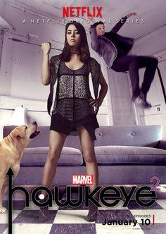 Hawkeye Squared Poster by nottonyharrison.deviantart.com on @DeviantArt