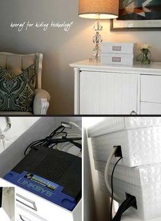 Often we really hate to see cables all around the house. They are very annoying and can be a big problem. Like these annoying cords, there is a lot of other ugly things laying around the house that don't add beauty, for example: the ugly AC unit, pesky router, dirty laundry hampers, messy wall mounted […]