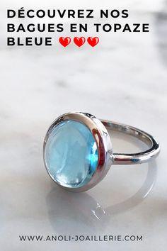925 Sterling Argent rhodium plaqué topaze bleue éternité Empilable RING Sz 5-10