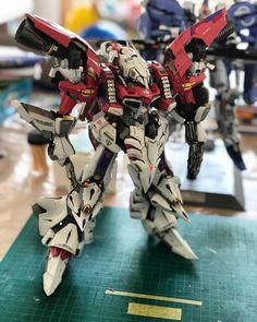 Gunpla Custom, Custom Gundam, Blood Orphans, Gundam Iron Blooded Orphans, Gundam Model, Plastic Models, Robots, Animation, Animal