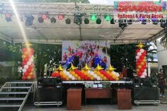 Ryonan Electric Phils. Corp. Royal  Christmas Ball 2019 at Laguna Technopark, Binan Laguna Services availed: *Grass wall rental with LED letter standee *Photo booth rental *Face painting *Balloon Decors -Pillars -Entrance Arch -Walkway Balloons -Stage balloon decors Royal Christmas, Christmas Balls, Letter Standee, Balloon Pillars, Balloon Painting, Stage Design, Balloon Decorations, Walkway, Photo Booth