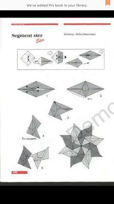 Origami : Segment star
