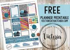 All You Knit is Love Planner Printable