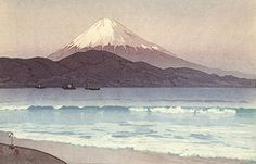"Japanese Art Print ""Fujiyama from Miho"" by Yoshida Hiroshi... http://www.amazon.com/dp/B01EPQXQKU/ref=cm_sw_r_pi_dp_gJZhxb1J5C1WF"
