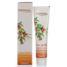 Patanjali Dant Kanti Toothpaste(Pack of 5) toothpaste crest lot whitening #Patanjali