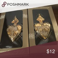 Gold heart Christmas 🎄 ornaments! Gold Heart Christmas Ornaments! Other