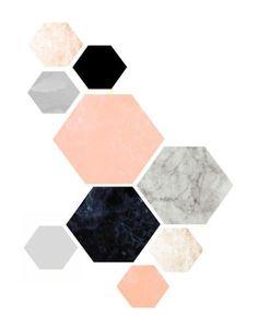 Quadros/Posters para uma Decoração Minimalista in Colourful Girl  *Clique para ver post completo*