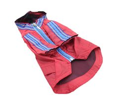 Amazon.com : FourlegMate Red Hooded Two Legs Pet Poncho Raincoat with Safe Reflective Strip : Pet Supplies