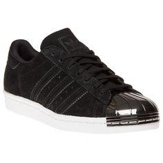best website 10cb3 431a7 adidas Superstar 80s Metal Toe Trainers Todo Completamente Negro, Zapatos  Negros, Entrenadores, Zapatillas