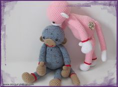 Darcy The Extra Large Monkey With Video Tutorial « The Yarn Box