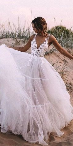 Ball Gown Tulle Wedding Dress Lace Appliques Bridal Gowns - - If you want cust. - Ball Gown Tulle Wedding Dress Lace Appliques Bridal Gowns – – If you want custom made color a - Simple Sexy Wedding Dresses, Bohemian Wedding Dresses, Best Wedding Dresses, Elegant Dresses, Casual Dresses, Sexy Dresses, Formal Dresses, Layered Dresses, Pretty Dresses