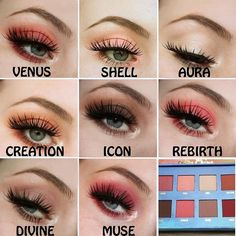 Love this Venus eye chart by @makeupbyalexy  Available on limecrime.com #limecrime #venus