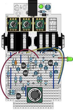 mylk [][][] - B.I.Y Guitar pedal PCB's
