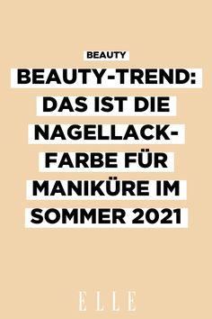 Manchmal steht man vorm Regal und weiß vor lauter Nagellack nicht, welche Farbe man will. Diese Maniküre wird im Sommer 2021 zum Beauty-Trend!