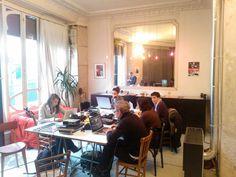 Team work during the 1st workshop w/ Richard Dumas