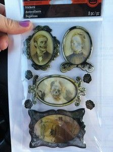 HEY !!*** All dollhouse people following this board who LOVE HALLOWEEN: I just found these at Michaels. They were even on sale. Gonna have a lenticular Halloween gallery in my real AND my doll house this year! Recollections Miniature Lenticular Halloween Framed Stickers | eBay