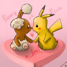 Pikachu n' Buneary in love 3 by Frank-Seven on DeviantArt