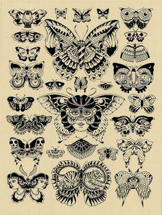 Mariposas locas