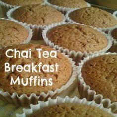 Nourishing Chai Tea Breakfast Muffins (GAPS, Gluten Free, Grain Free, Paleo, Dairy Free)