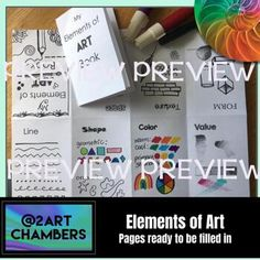 Elements Of Art Texture, Elements Of Art Space, Texture Art, History Lessons For Kids, History Projects, Art Lessons, Art Projects, Middle School Art, Art School