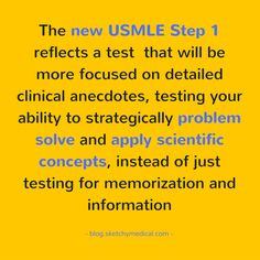 changes to the usmle step 1