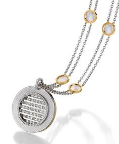 ROUNDELLA High Jewelry, Pendant Necklace, Diamond, Jewlery, Diamonds, Drop Necklace